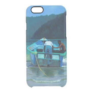 Beach Themed Before the Catch Clear iPhone 6/6S Case