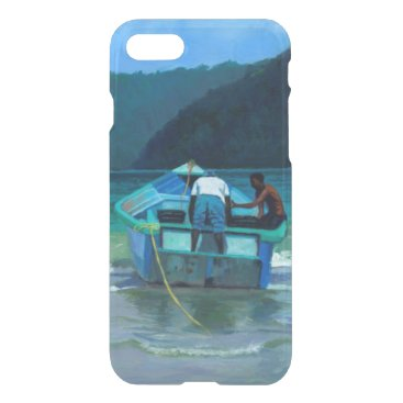 Beach Themed Before the Catch iPhone 7 Case