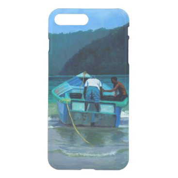 Beach Themed Before the Catch iPhone 7 Plus Case
