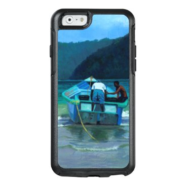 Beach Themed Before the Catch OtterBox iPhone 6/6s Case