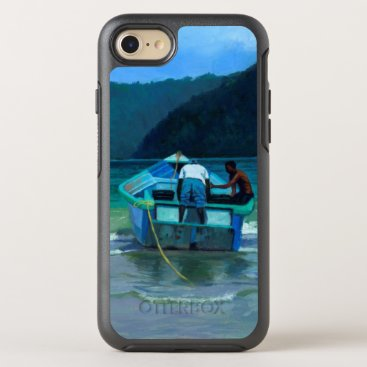 Beach Themed Before the Catch OtterBox Symmetry iPhone 7 Case
