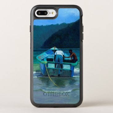 Beach Themed Before the Catch OtterBox Symmetry iPhone 7 Plus Case