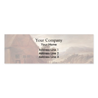 Before the Inn by David Teniers the Younger Business Card Template