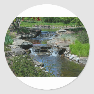 Before the Lilies Bloom Classic Round Sticker
