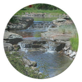 Before the Lilies Bloom Melamine Plate