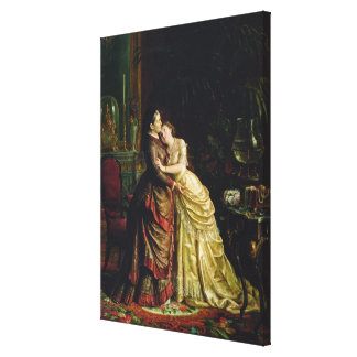 Before the Marriage Canvas Print