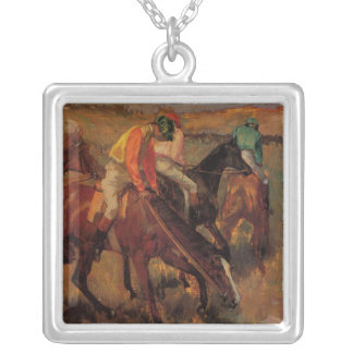'Before the Race' Silver Plated Necklace
