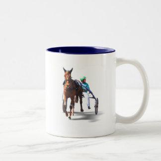 Before the Race Two-Tone Coffee Mug