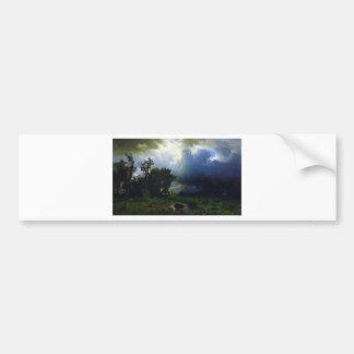 Before the Storm by Bierstadt Bumper Sticker