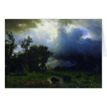 Before the Storm by Bierstadt Cards