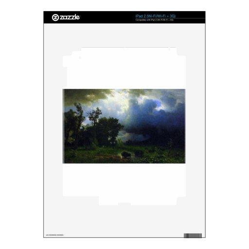 Before the Storm by Bierstadt iPad 2 Skin