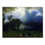 Before the Storm by Bierstadt Postcard