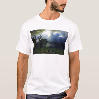 Before the Storm by Bierstadt T-Shirt