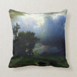 Before the Storm by Bierstadt Throw Pillow