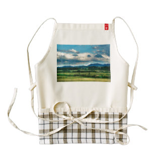 Before the storm painting zazzle HEART apron