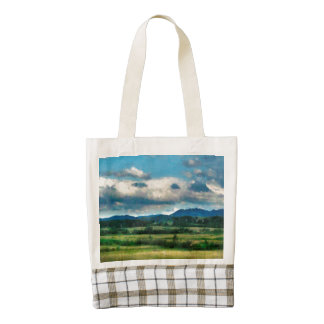 Before the storm painting zazzle HEART tote bag