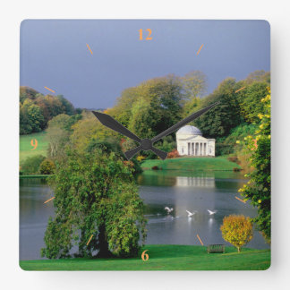 Before the Storm Square Wall Clock
