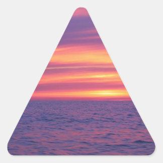 Before The Sunrise Triangle Sticker
