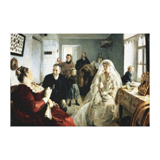 Before the Wedding, 1880s Canvas Print
