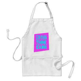 Before You Speak, Listen – Before You Write, Think Adult Apron