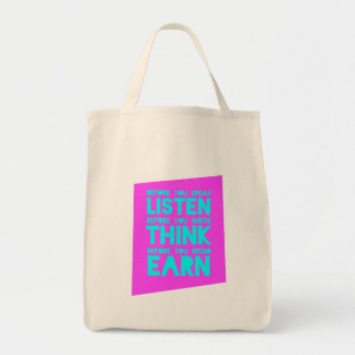 Before You Speak, Listen – Before You Write, Think Tote Bags