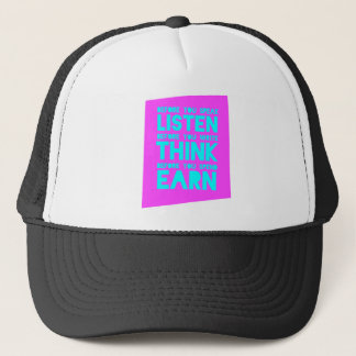 Before You Speak, Listen – Before You Write, Think Trucker Hat