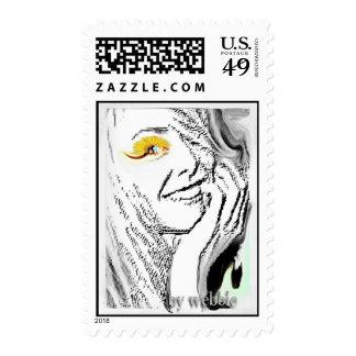 beforethewinkbywebbie postage stamps