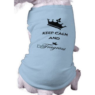beFragrant Doggie Ribbed Tank Top Dog Clothes