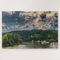 Befreiungshalle Kelheim Germany. Jigsaw Puzzle