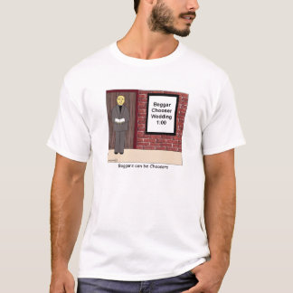 Beggar Chooser Wedding Cartoon T-shirt