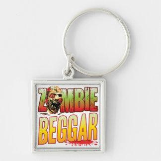 Beggar Zombie Head Key Chains