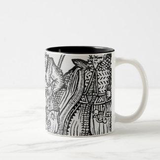 Beggars All Two-Tone Coffee Mug