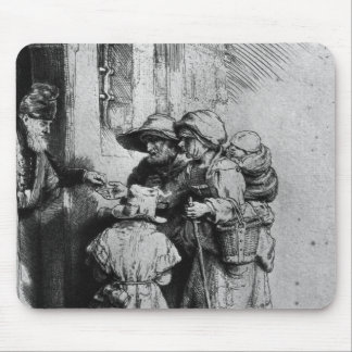 Beggars on the Doorstep of a House, 1648 Mouse Pad