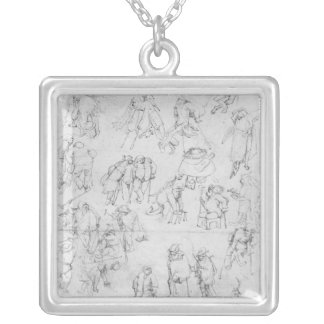 Beggars Silver Plated Necklace