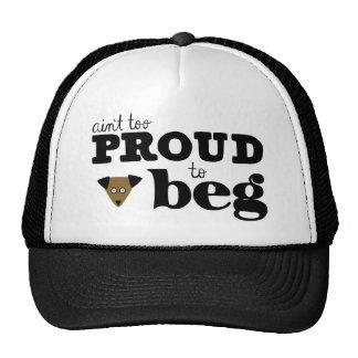 Begger Dog Trucker Hat