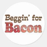 Beggin' for Bacon Sticker