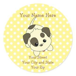 Beggin Puppy sticker