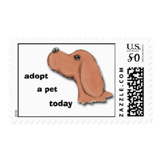 begging, adopt, a pet, today postage
