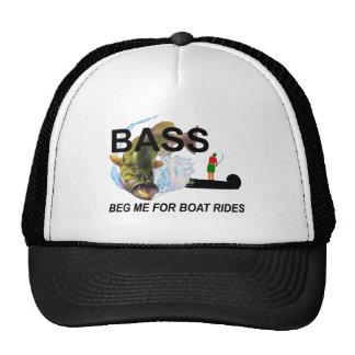 begging bass mesh hats
