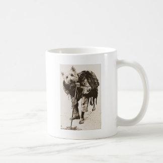 begging coffee mug