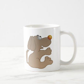 begging doggy coffee mug