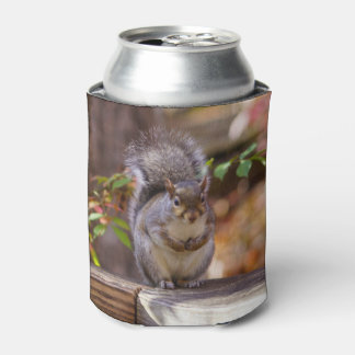 Begging Squirrel Can Cooler