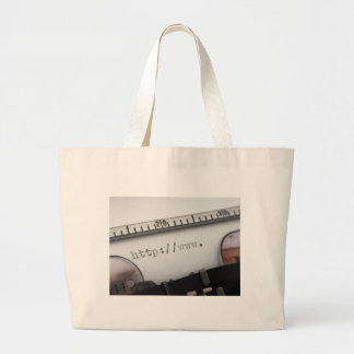beggining of URL Canvas Bag