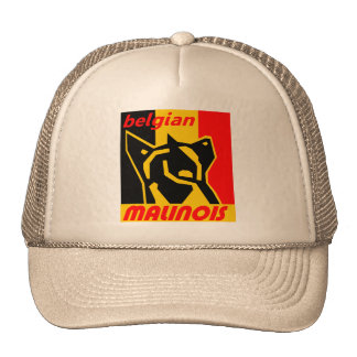 begian-malinois 1 trucker hat