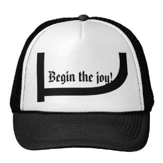 Begin the joy! trucker hat