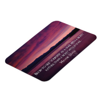 Begin To See Yourself Inspirational Photo Magnet
