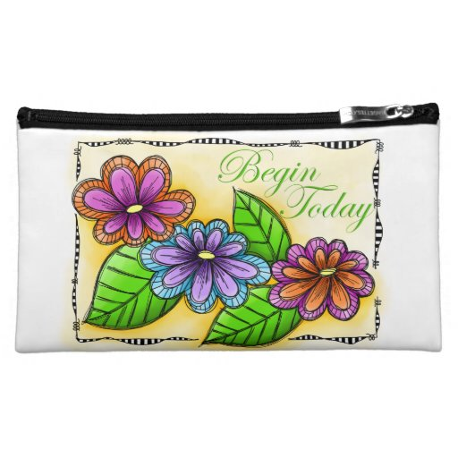 Begin Today Cosmetic Bag