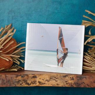 Beginner Windsurfer Plaque