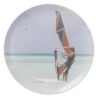 Beginner Windsurfer Plate