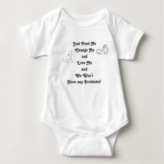 Beginners Guide to a Happy Baby 3-snap outfit Baby Bodysuit